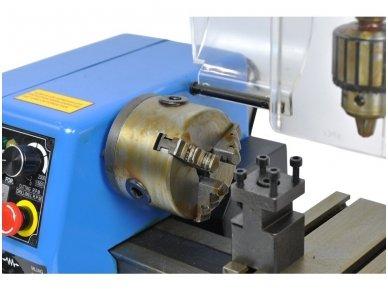 Tekinimo-frezavimo staklės 250W 11