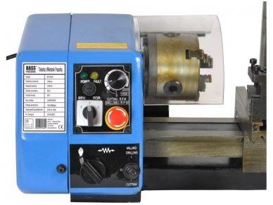 Tekinimo-frezavimo staklės 250W 5