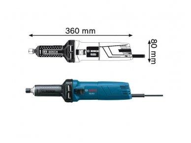 Tiesinis šlifuoklis Bosch GGS 5000 L Professional 2