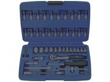 Tuščia dėžė įrankių rinkiniams 46 dalių