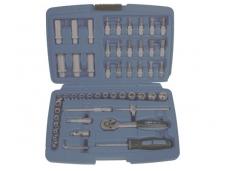 Tuščia dėžė įrankių rinkiniams 52 dalių