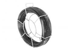 Vamzdžių valymo spiralių rinkinys, 5 x 2,3 m, Ø 16 mm & 1 x 2,4 m, Ø 15 mm