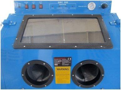 BASS POLSKA BP-4266 vertikali smėliavimo kabina 350l su filtru 2