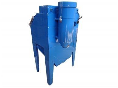 BASS POLSKA BP-4266 vertikali smėliavimo kabina 350l su filtru 3