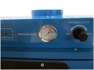 BASS POLSKA BP-4266 vertikali smėliavimo kabina 350l su filtru 5