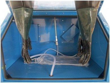 BASS POLSKA BP-4266 vertikali smėliavimo kabina 350l su filtru 6