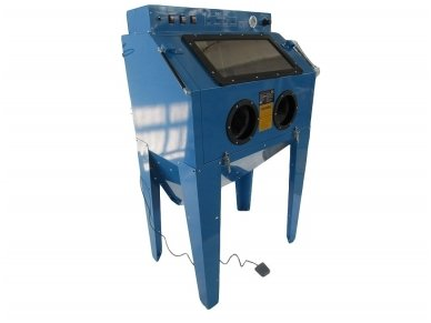 BASS POLSKA BP-4266 vertikali smėliavimo kabina 350l su filtru