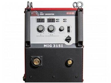 WTL MIG 315I suvirinimo pusautomatis, 315A, 400V 2