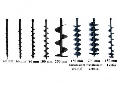 Žemės grąžtas ADA Ground Drill 7, 2.4kW, 71cm³ 6
