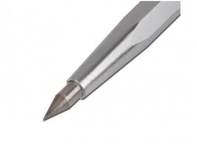 Žymeklis su kietu metaliniu antgaliu | 150 mm 2
